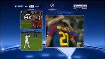 دوري ابطال اوروبا 2010/2011 هدف ميسي الثاني على ريال مدريد