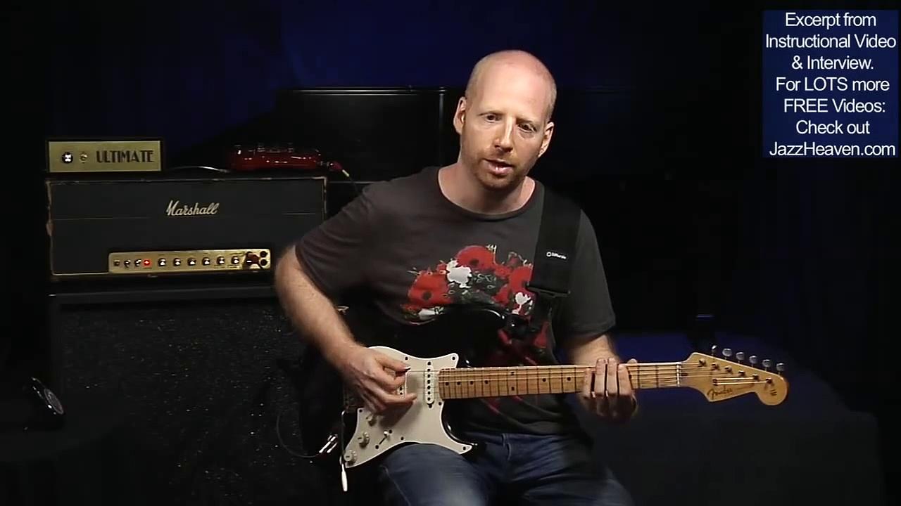 Oz Noy Jazz Guitar Blues Guitar Lesson Minor Pentatonic Guitar Improvisation Workout JazzHeaven