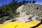 Climbing a Tough Hill in a Can-Am Commander Side by Side ATV