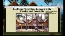 We custom log cabin design, log homes, cabins layouts, interior design, small spaces handcrafted