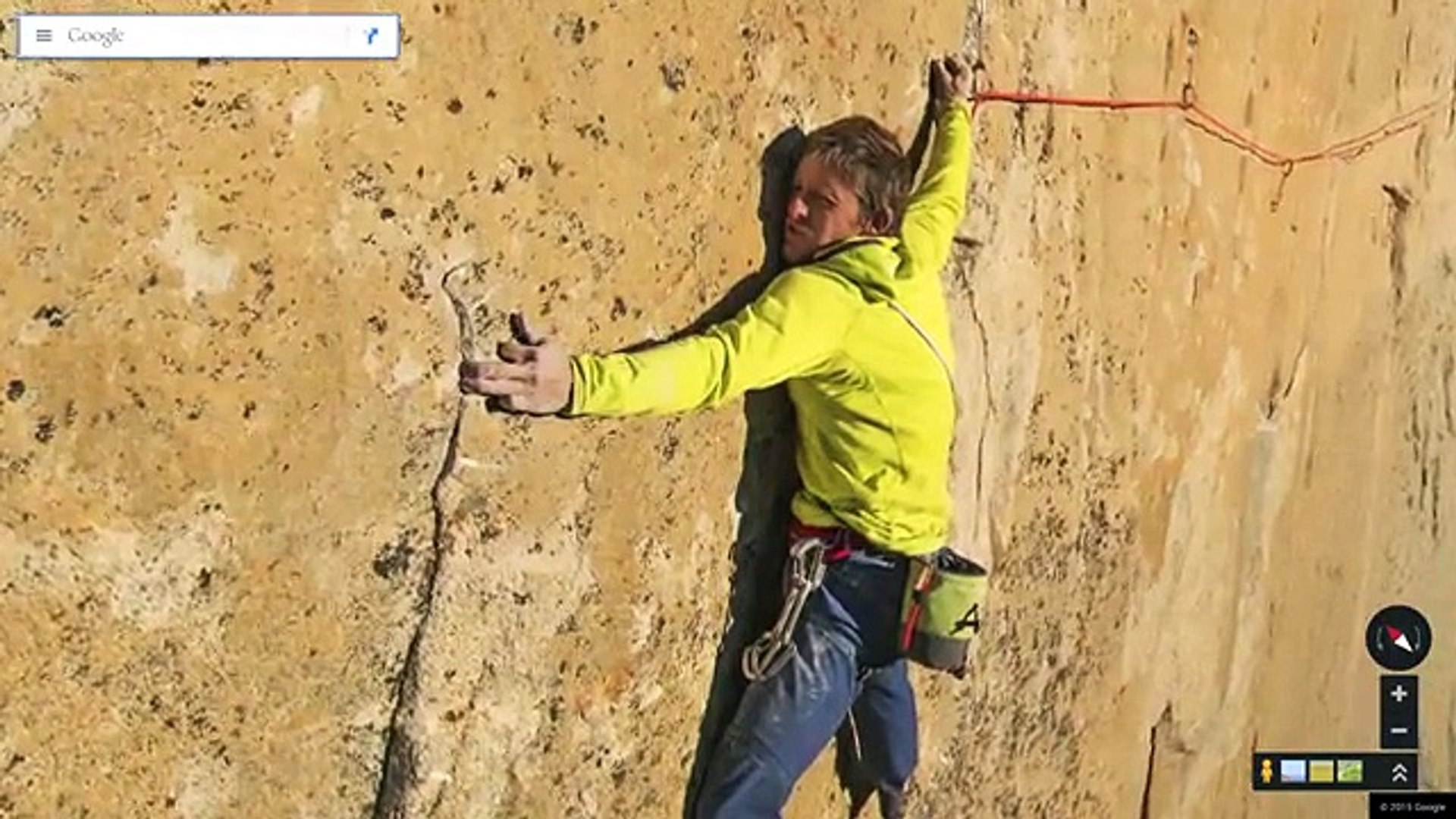 Scale Yosemite's El Capitan in Google Maps with Alex Honnold, Lynn Hill, and Tommy Caldwell,