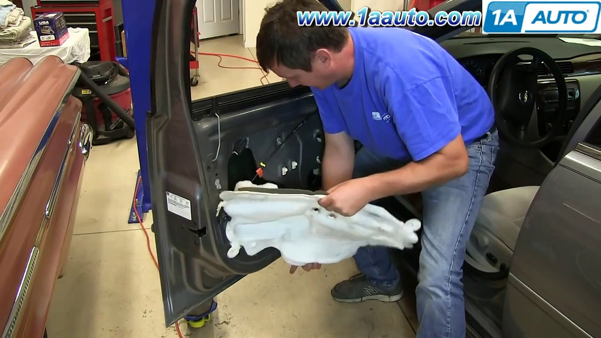 How To Install Replace Front Outside Door Handle 2006-12 Chevy Impala