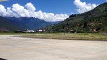 Druk Air taking off @ Paro International Airport