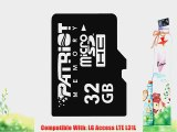32GB MicroSDHC Memory Card for Tracfone LG Access LTE L31L Cellphone with Free USB MicroSD/SDHC