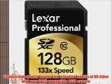 Lexar 128 GB SDXC Flash Memory Card LSD128CRBNA133