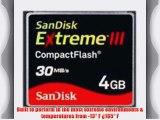 SanDisk 4GB Extreme III CompactFlash Card
