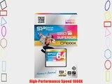 Silicon Power 64GB Hi Speed 1000x Compact Flash Card (SP064GBCFC1K0V10)