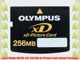 Lexar Media XD256-231 256 MB xD-Picture Card (Retail Package)
