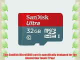 Professional Ultra SanDisk 32GB MicroSDHC Card for Alcatel One Touch T?Pop Smartphone is custom