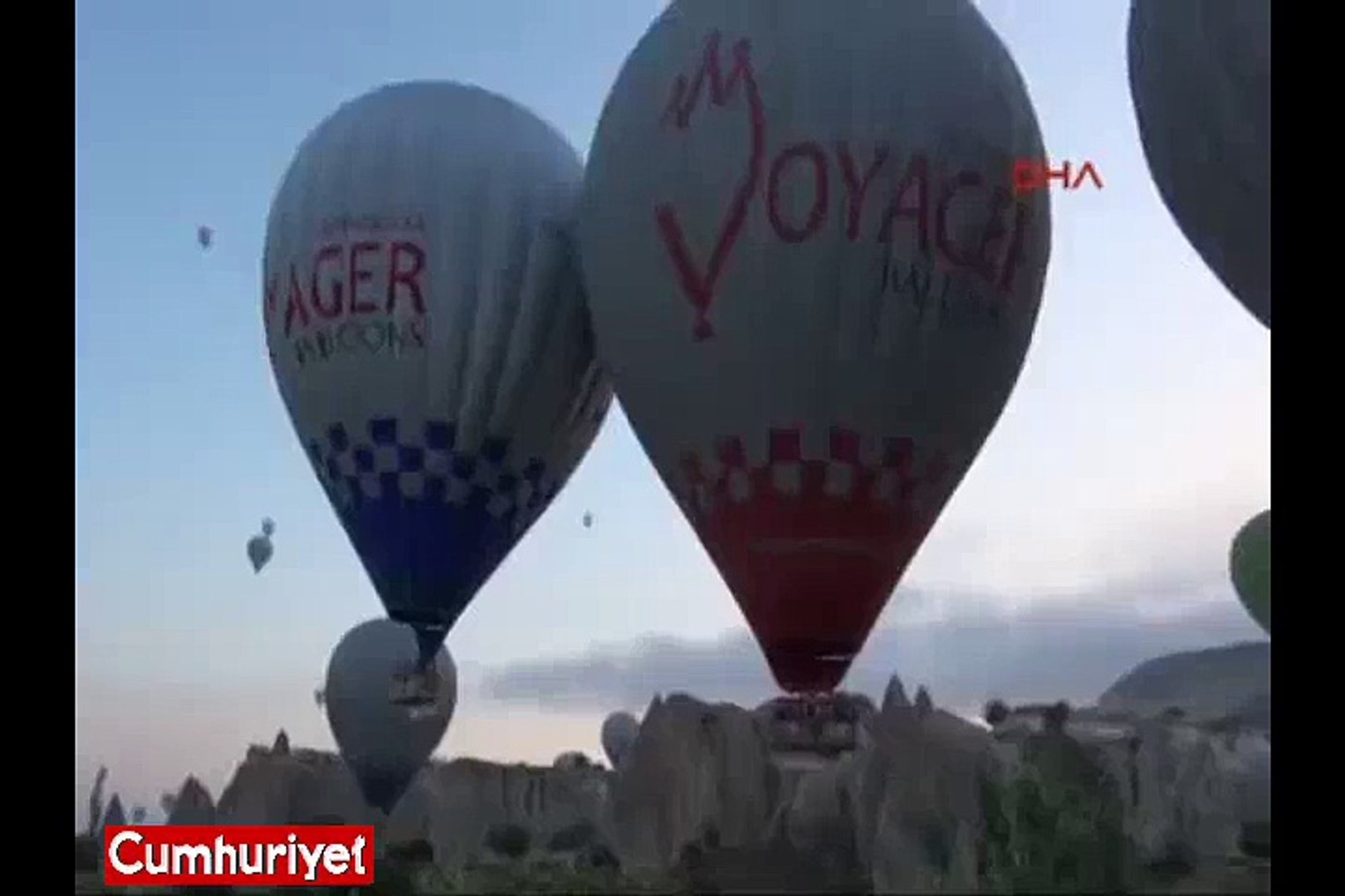 Kapadokya'da balon sert iniş yaptı: 8 turist yaralandı