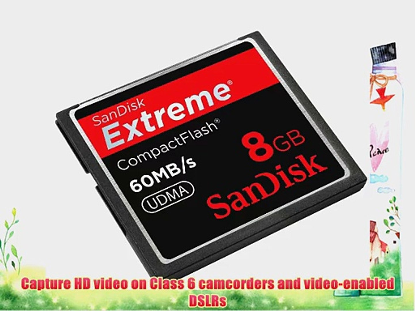 SanDisk SDCFX-016G-X46 16 GB Extreme 60 MB//s UDMA CompactFlash Memory Card