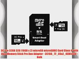 3C Pro 32GB 32G (16GB x 2) microSD microSDHC Card Class 6 with Dual Memory Stick Pro Duo Adapter