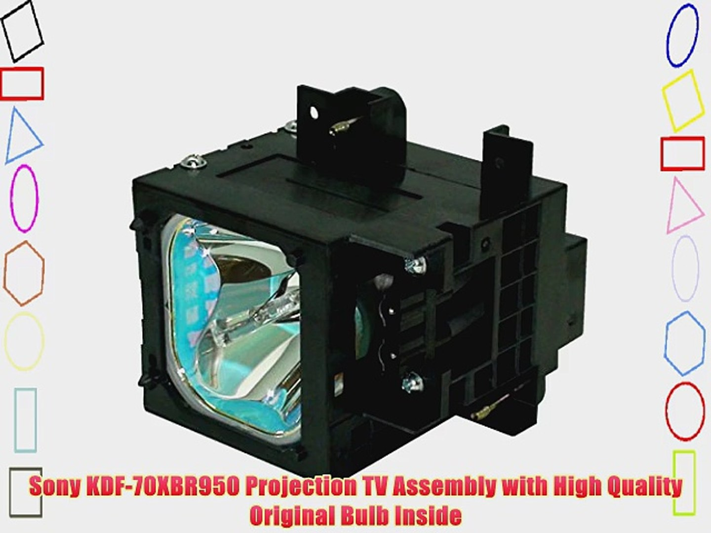 Samsung HL-S5687WX//XAA TV Assembly Cage with High Quality Projector bulb