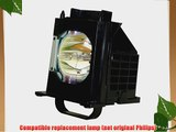 Replacement Lamp with Housing for Mitsubishi WD-65735 WD-65736 WD-65737 WD-65835 (915B403001)
