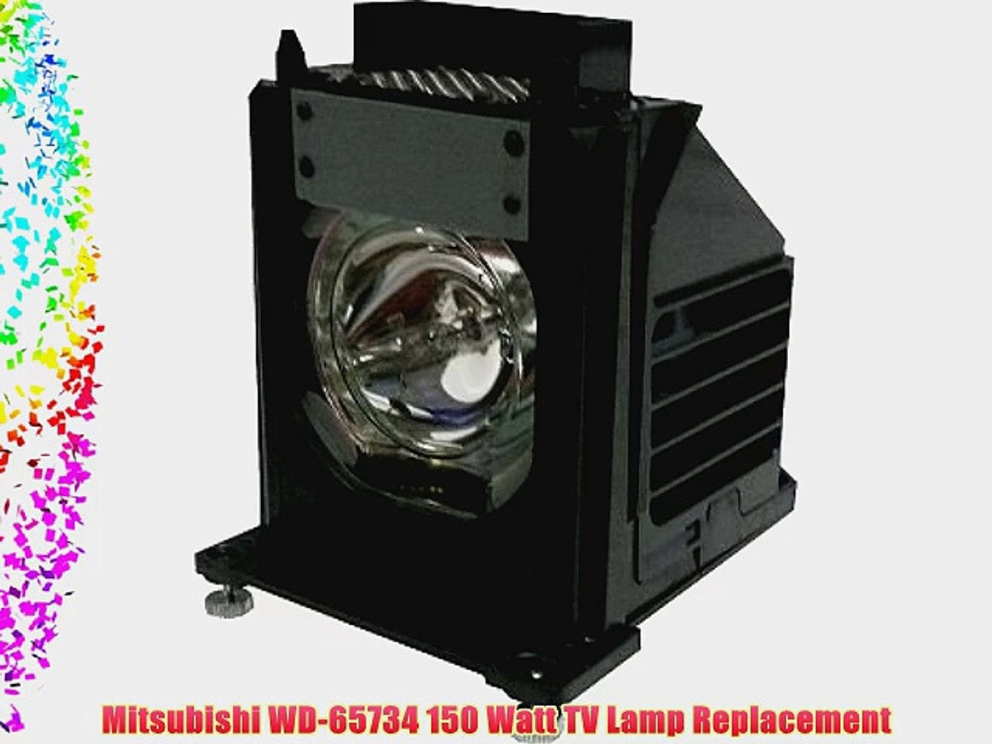 FI Lamps for Mitsubishi wd-65731 Compatible Replacement Rptv Lamp Bulb with Housing