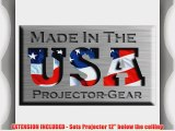 Projector-Gear Projector Ceiling Mount for DELL 1610HD with Extension Lowers 12