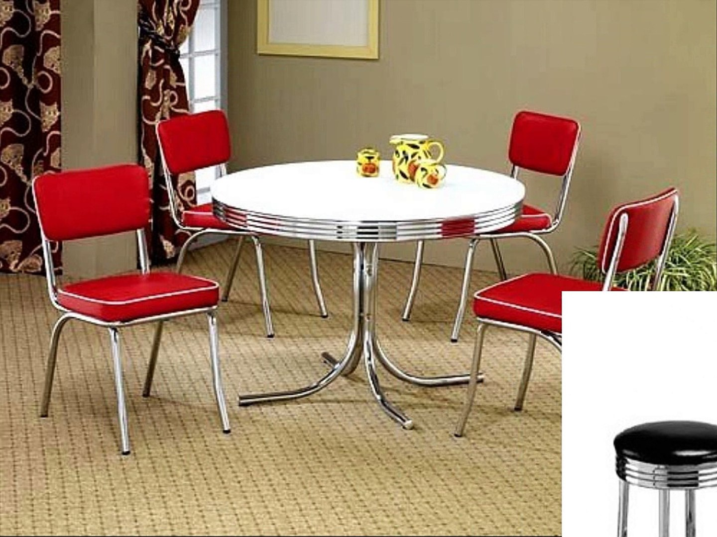 Retro Kitchen Table Sets Video Dailymotion