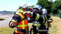 Origny-Sainte-Benoîte : exercice incendie à Tereos