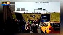 UberPop Grêve et violence des taxis, les aéroports de Roissy et d'Orly bloqués