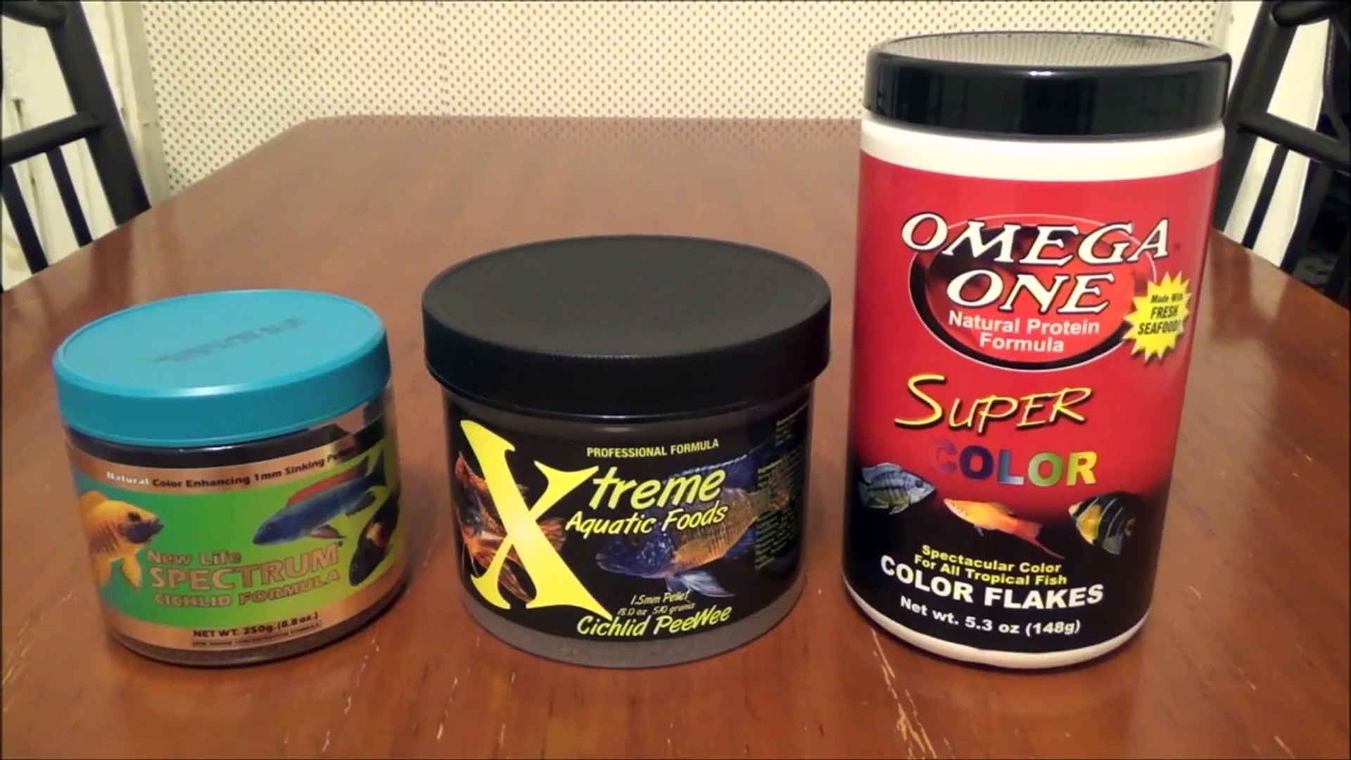 FISH FOOD REVIEW!! What I feed my African Cichlids