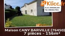 A vendre - CANY BARVILLE (76450) - 7 pièces - 156m²