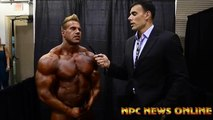 Frank Sepe interviews - 2013 Olympia 6th Place Winner Jay Cutler Interview