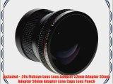 Opteka HD2 0.20X Professional Super AF Fisheye Lens for Pentax K-X K-7 K10D K20D K100D K200D
