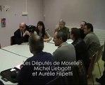 Ségolène Royal rencontre les syndicats Arcelor-Mittal