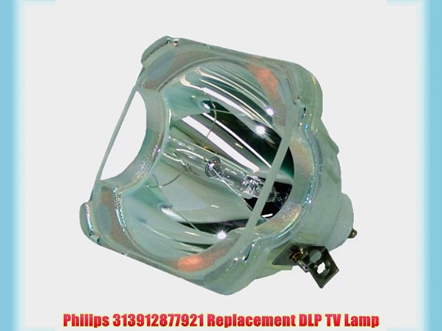 Philips OEM PHI//334 Replacement DLP Bare Bulb for Mitsubishi 915B455011