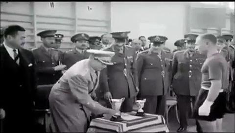 Josip Broz Tito  – Egipat 1956. (Marshal Tito in Egypt 1956.)
