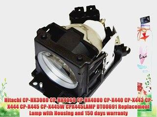 Hitachi CP-HX3080 CP-HX4060 CP-HX4080 CP-X440 CP-X443 Compatible Lamp
