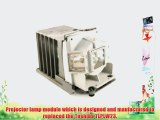 Toshiba TLPLW23 replacement projector lamp bulb with housing - high quality replacement lamp