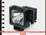 FI Lamps Compatible SONY KDF-E60A20 TV Replacement Lamp with Housing