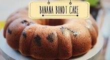 Banana Bundt Cake | Easy To Make Tea Cake Recipe | Beat Batter Bake With Priyanka