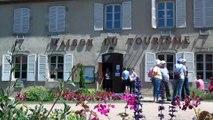 Visite médiévale Evaux les bains par l'office de tourisme