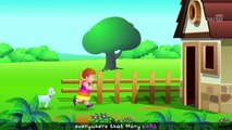 Mary Had A Little Lamb- 3D Animation - English Nursery Rhymes - Nursery Rhymes - Kids Rhymes - for children with Lyrics