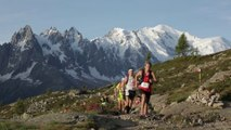 80km - Passage a la Tête au Vent - Chamonix Marathon du Mont-Blanc 2015