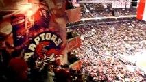 Amir Johnson's Great Winning Play - Toronto Raptors v Celtics March 2014 @ the ACC