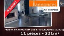 A vendre - BAYENGHEM LES EPERLECQUES (62910) - 11 pièces - 221m²
