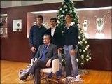 Real Madrid C.F. (cristiano ronaldo, kaka, raul y florentino perez - Felices Navidades blancas