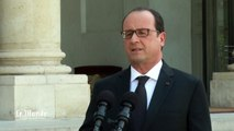 Rhône-Alpes : le plan Vigipirate relevé à son plus haut niveau par François Hollande