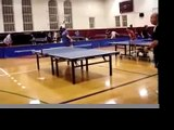 Adam Bobrow table tennis (ping pong) promo