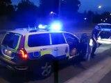 polis har stoppat polis