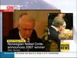 CNN - 071012 - Al Gore Wins Nobel Peace Prize - Announcement