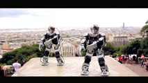 Robot Break Dance Paris (Keedz - Stand on the word)