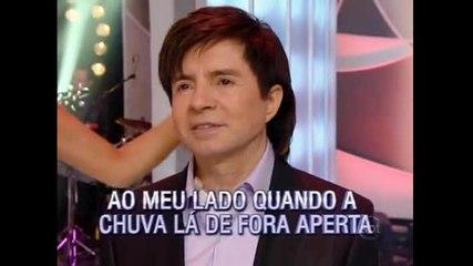 """Lucas e Felipe cantam a música vencedora """"Veja Bem"""""""