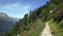 80km - Passage Montenvers - Chamonix Marathon du Mont-Blanc 2015