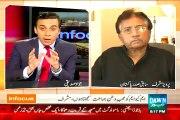 Pervez Musharaf's Response on Asif Zardari's Statement