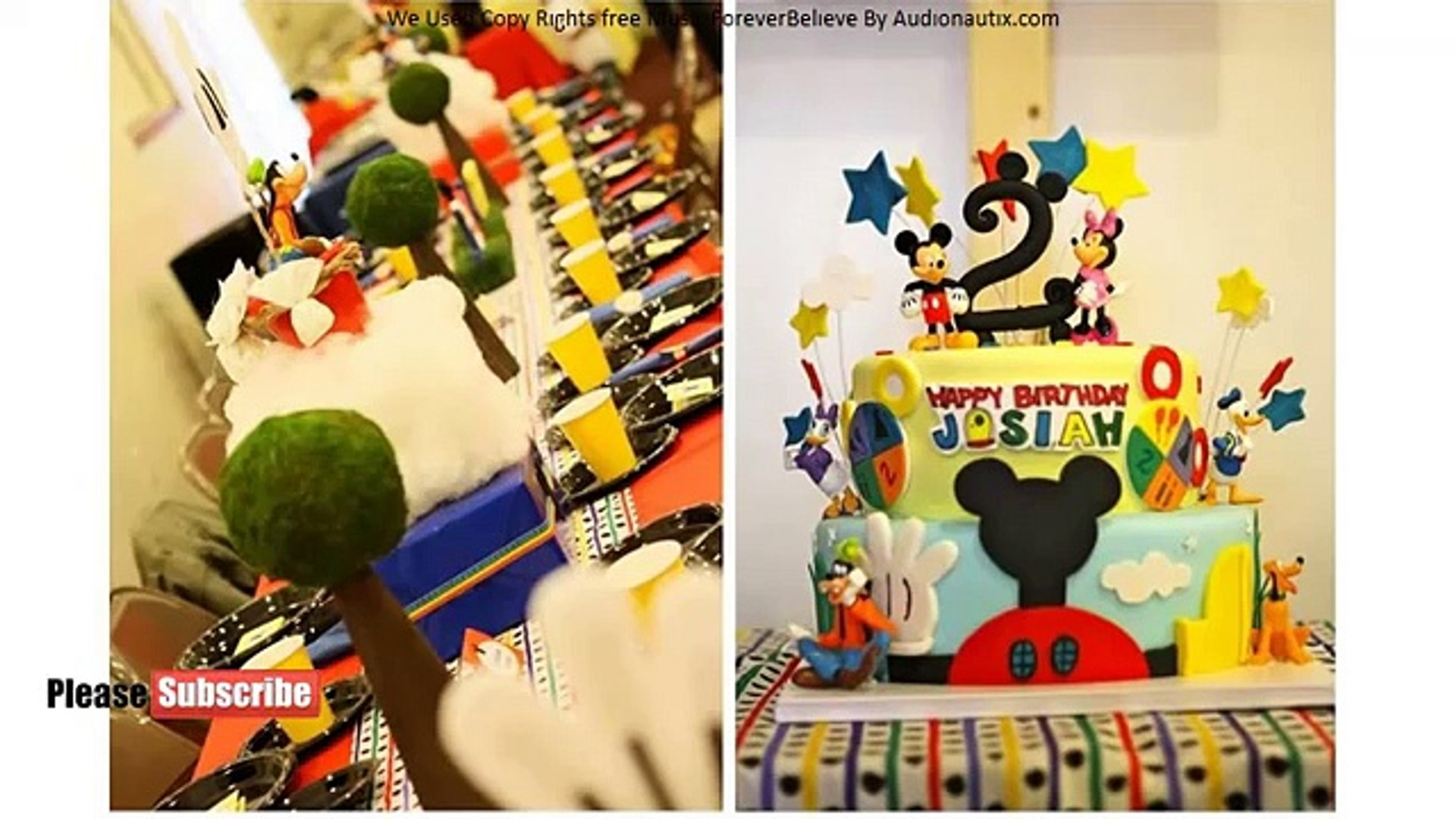 Mickey Mouse Clubhouse Cake - Beautiful Cakes