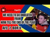 We Need To Go Unbeaten From Now Till The End Of The Year - Arsenal 4 Newcastle 1